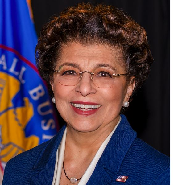 COURTESY: SMALL BUSINESS ADMINISTRATION - Jovita Carranza is an American businesswoman is the head of the Small Business Administration of the United States Government.