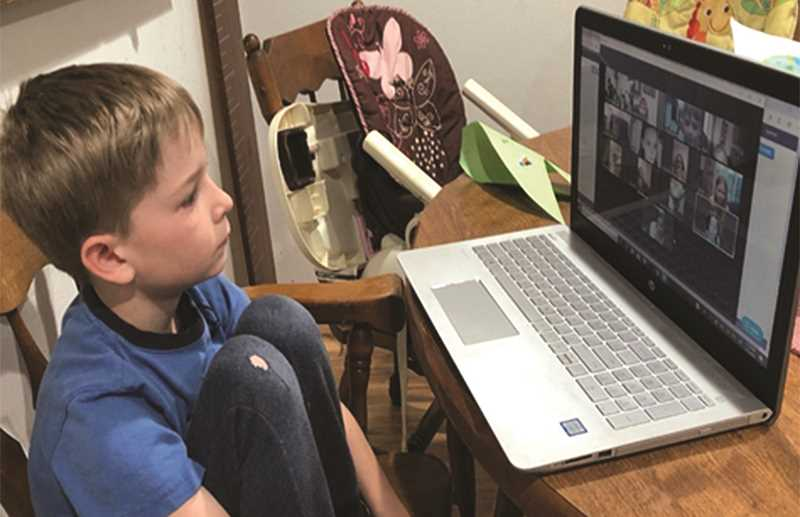 PHOTO COURTESY OF CROOK COUNTY SCHOOL DISTRICT  - Distance learning was a popular option among some students, prompting the school district to offer more of it going forward.