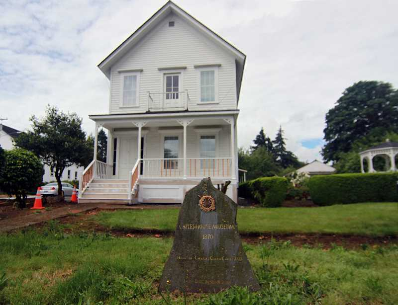 PMG PHOTO: MILES VANCE - The Caples House was supposed to celebrate its 150th anniversary until the coronavirus forced volunteers to cancel the event.