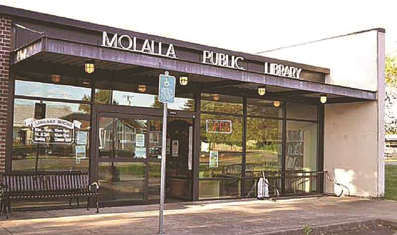 FILE PHOTO - Work within the Molalla Public Library to get things ready for when they reopen, whenevr that may be, has been ongoing.