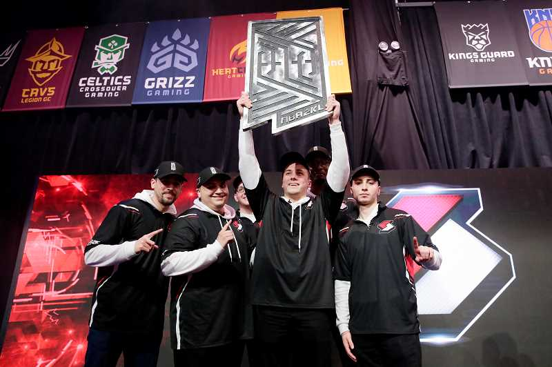 COURTESY PHOTO - Blazer5 Gaming has been the NBA 2K Leagues best regular-season team in the past two years. Will a third year bring a league title?