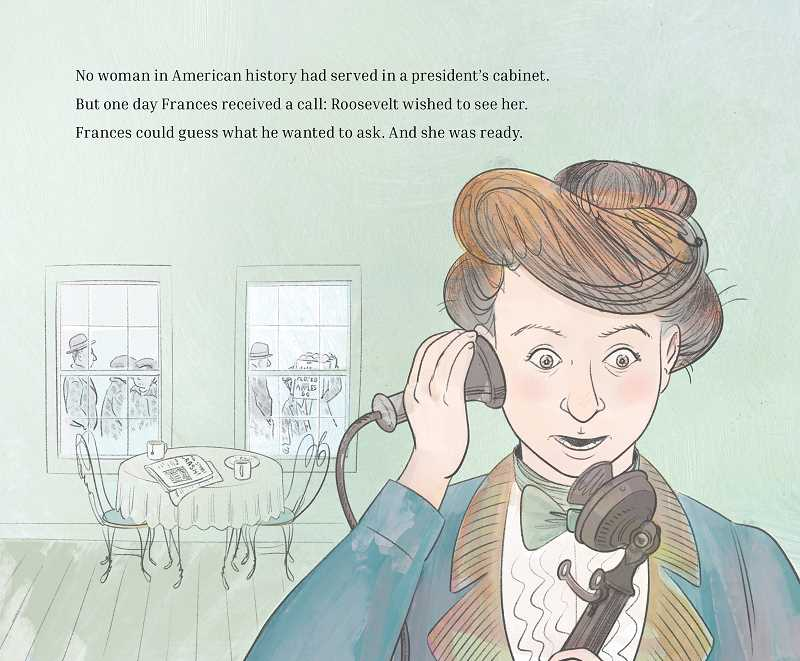 COURTESY PHOTO: PEACHTREE PUBLISHING - The book chronicles the life of Frances Perkins, a workers' rights pioneer.
