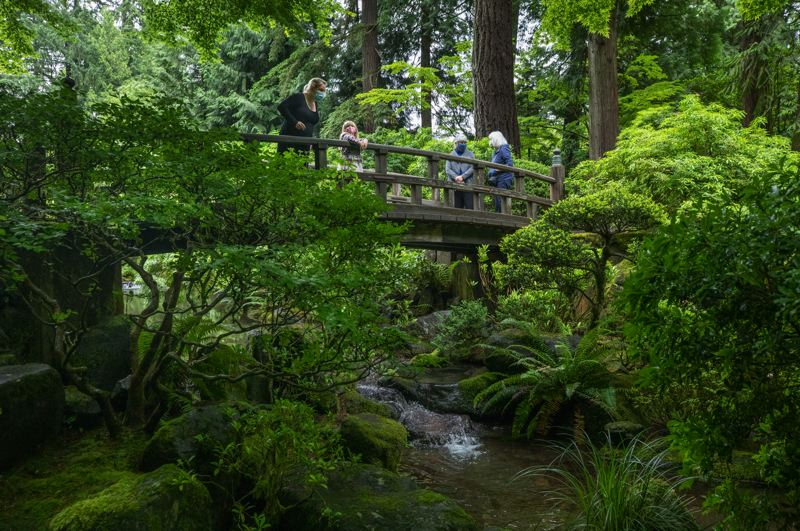 PMG PHOTO: JONATHAN HOUSE - Photographer Jonathan House recently visited Portland Japanese Garden, which, like other Portland attractions, has reopened for visitors.