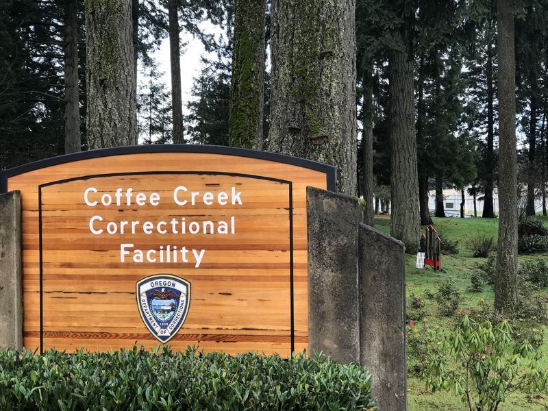 PMG FILE PHOTO - Coffee Creek Correctional Facility is housing adults in custody from other institutions who tested positive for COVID-19 and also recently reported a mail room employee who tested positive.