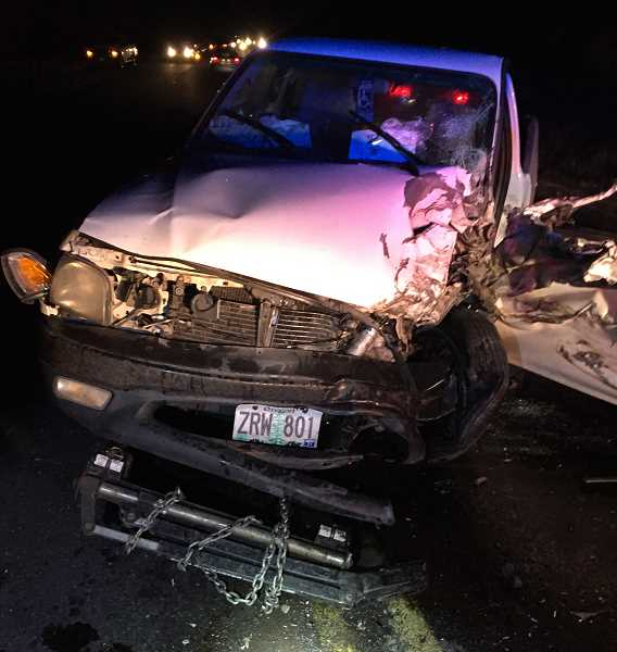 CROOK COUNTY SHERIFF'S OFFICE - Both drivers involved in head-on crash injured.