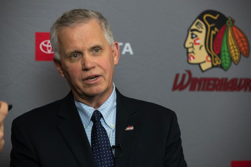 PMG FILE PHOTO: JONATHAN HOUSE - Western Hockey League commissioner Ron Robison says Winterhawks should have a new owner before August.