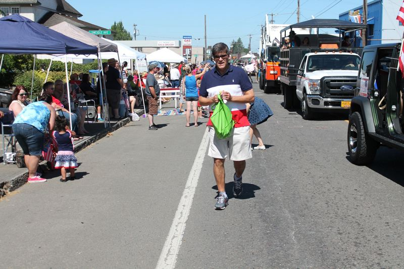 JIM BESEDA/MOLALLA PIONEER - Oregon Representative Vic Gilliam took part in Molalla's annual Fourth of July Giant Street Parade., Molalla Pioneer - News Gilliam, 62, in his fifth term representing Oregon House District 18, said in an email Monday that he may be suffering from Amyotrophic Lateral Scloerosis of 'Lou Gehrig's Disease. House Rep. Vic Gilliam fears he is suffering from ALS