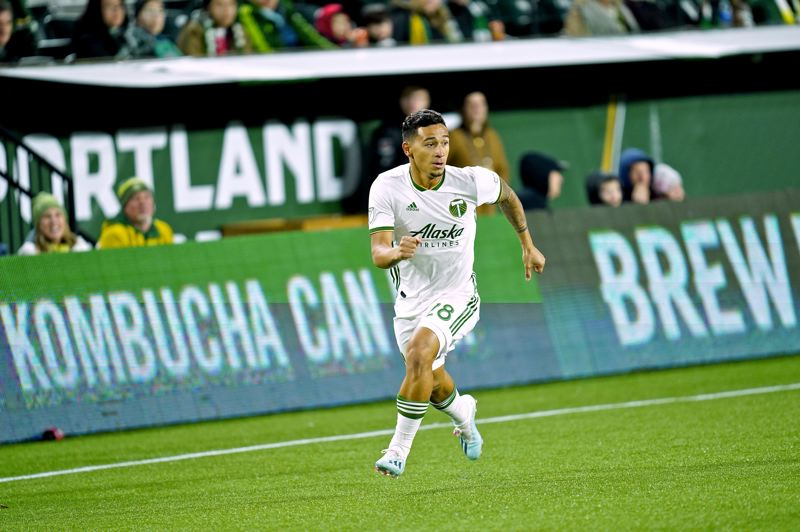 COURTESY PHOTO: PORTLAND TIMBERS - Pablo Bonilla, pictured during a preseason match, was signed Thursday by the Timbers off of the T2 roster.