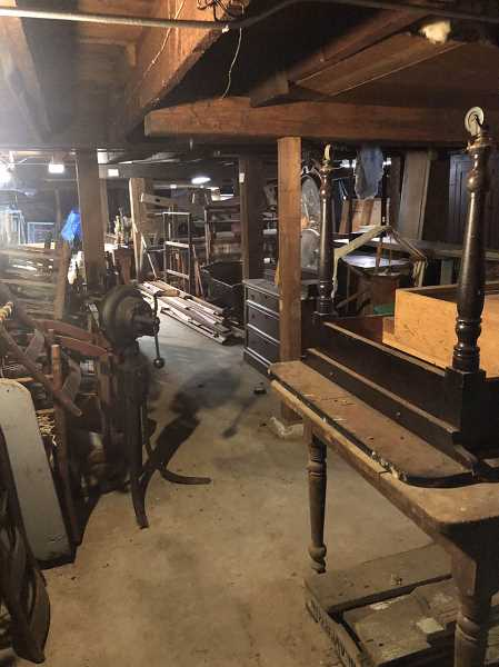 COURTESY OF TED HEID - Historical artifacts in custody of Aurora Colony HIstorical Society will soon be moved from the Ox Barn to a new storage facility that will provide better climate control.