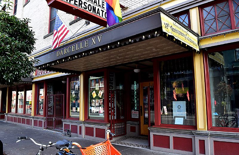COURTESY PHOTO - Oregon's State Advisory Committee on Historic Preservation asked that the nomination of Darcelle's XV club to the national history list be revised to highlight its place in West Coast and national gay history.