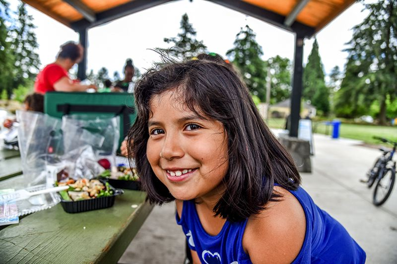 COURTESY PHOTO: PORTLAND PARKS & RECREATION - Portland Parks & Recreation will bring free lunches and some socially-distanced activities to four spots in East Multnomah County starting Monday.