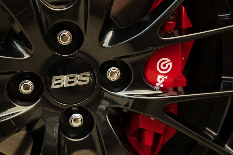 MAZDA NORTH AMERICAN OPERATIONS - The added stopping power of Brembo brakes are optional for the Mazda MX-5 Miata.