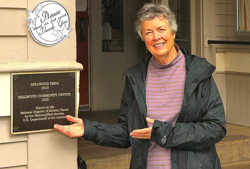 DAVID F. ASHTON - Award-winning Inner Southeast historian Eileen Fitzsimons wrote the nomination that led to the Sellwood Community House building to be listed in the National Register of Historic Places.