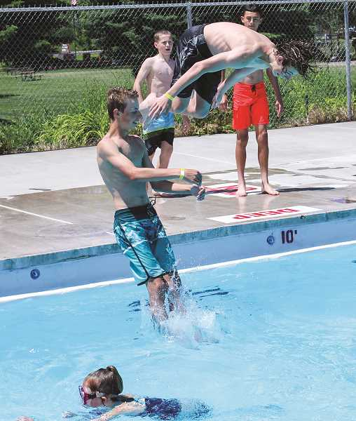 CENTRAL OREGONIAN - The Prineville swimming pool will not host the traditional open swim as in years past, but people can rent the facility for up to two hours for parties of 25 people or less.