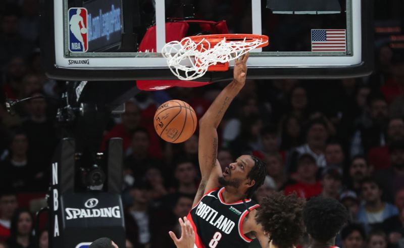 PMG FILE PHOTO: JAIME VALDEZ - Forward Trevor Ariza, pictured in a February game, will not play for the Blazers when the NBA restarts in Orlando