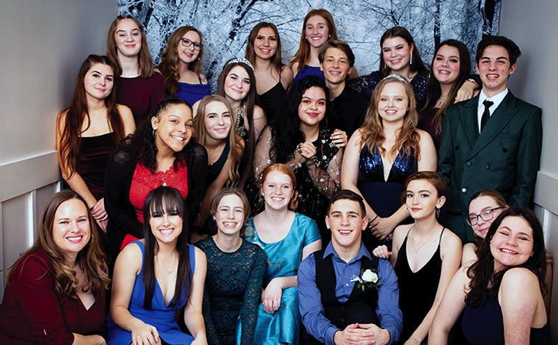 COURTESY PHOTO: OREGON ASSOCIATION OF STUDENT COUNCILS - St. Helens High School's student leadership came through to be named a Gold Council as recognized by the Oregon Association of Student Councils for 2019-20.
