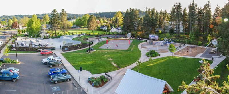 COURTESY PHOTO: CITY OF ESTACADA - Funding for the next phase of Wade Creek Park is included in the city of Estacada's recently approved budget.