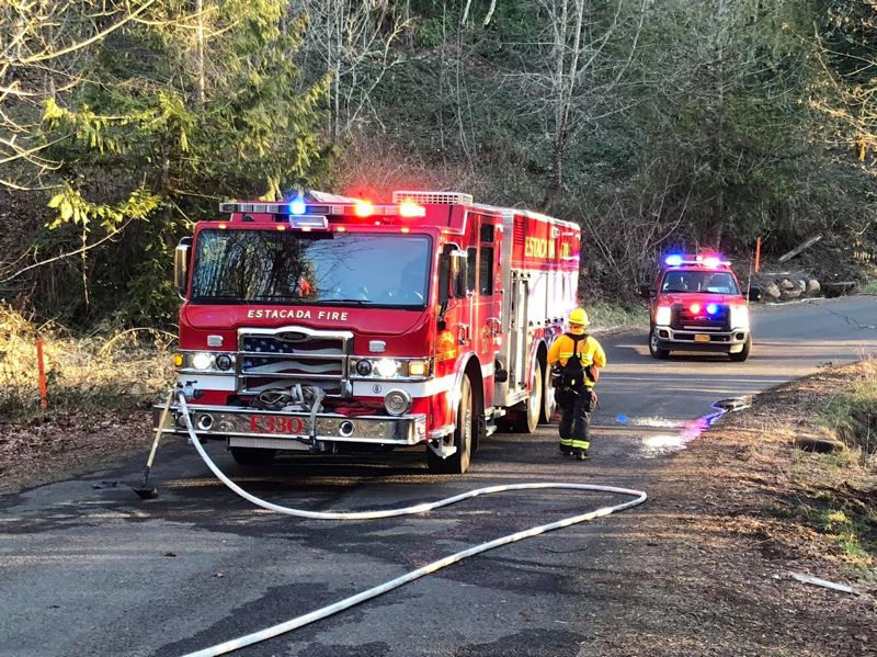 COURTESY PHOTO - In November, voters will decide if the Estacada Rural Fire District should merge with Clackamas Fire.