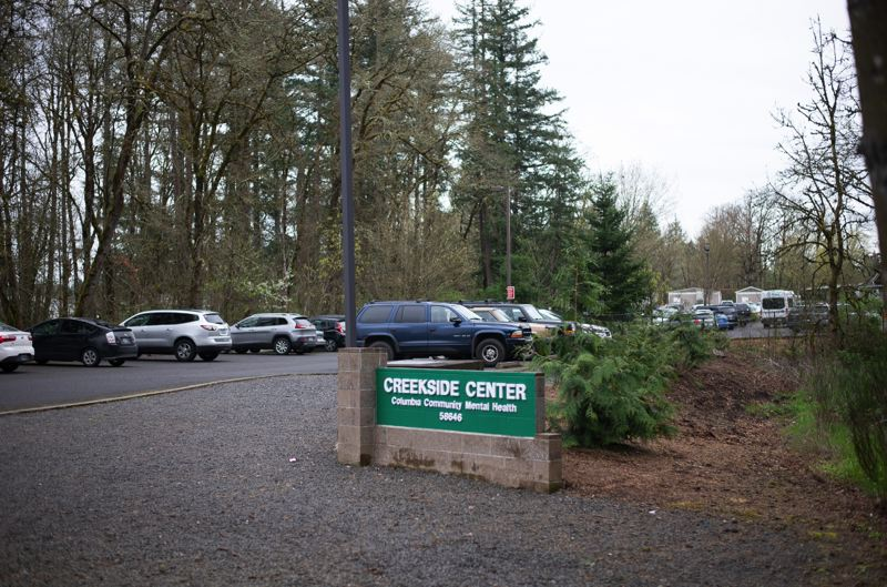 PMG PHOTO: ANNA DEL SAVIO - Columbia Community Mental Health's Creekside Center is in St. Helens.