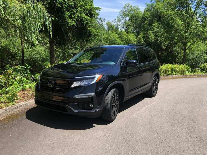 PMG PHOTO: JEFF ZURSCHMEIDE - On the road, the 2020 Honda Pilot is smooth, quiet, and comfortable. It's easy to drive this SUV, even if you're coming from a smaller vehicle.