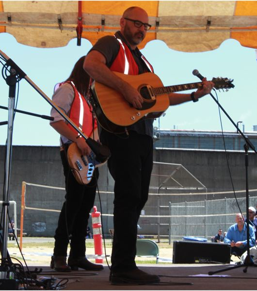 COURTESY PHOTO: TRACY SCHLAPP - Musician Danny Wilson said he was nervous about the idea of playing inside Oregon prisons, but shows at Oregon State Penitentiary and elsewhere have been enjoyable.
