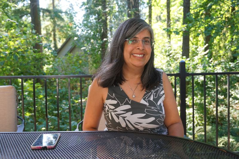 PMG PHOTO: CLAIRE HOLLEY - Neelam Gupta at her house in Lake Oswego.