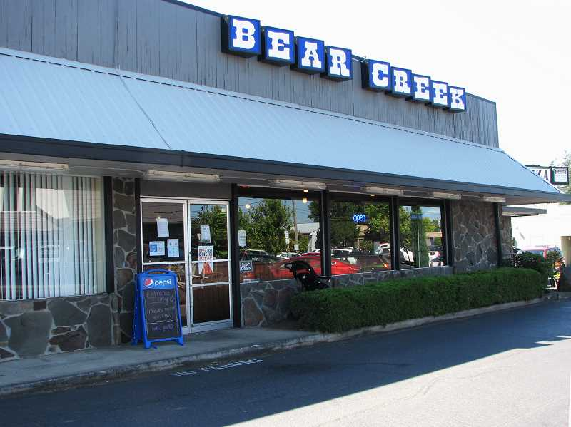 PMG PHOTO: SANDY STOREY - Bear Creek Pizza and Pub is now open at 111 E. Main St. in Molalla.