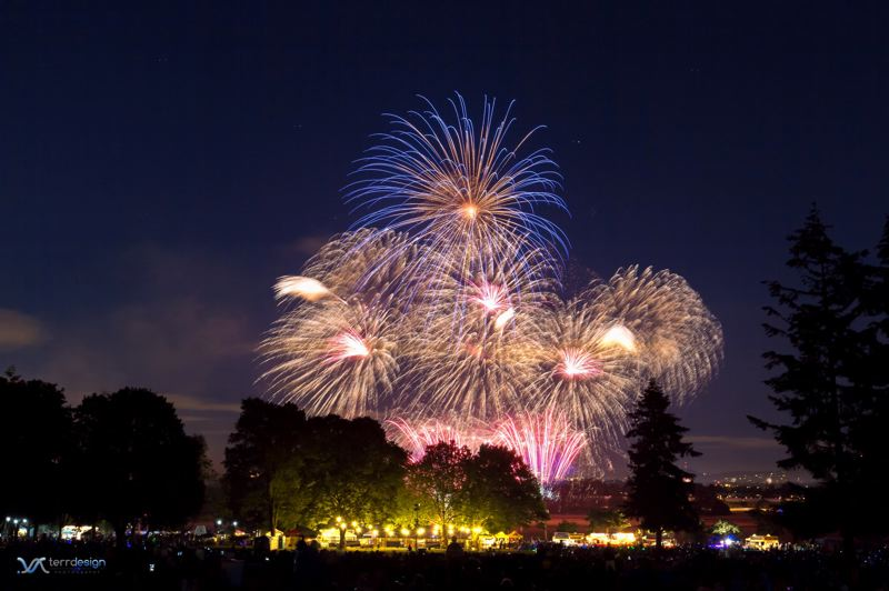 COURTESY PHOTO - Many fireworks displays in Portland have been canceled for the season. You can watch fireworks on television at 8 p.m. July 4 on OPB and KGW.