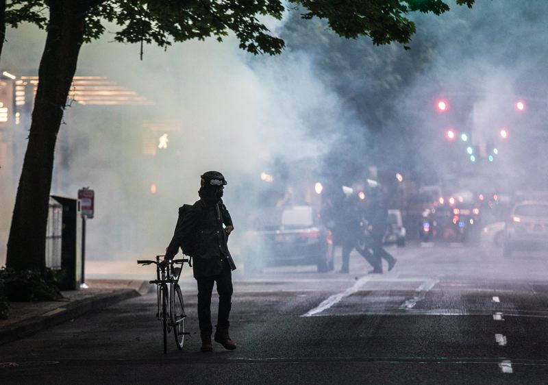 PMG PHOTO: JONATHAN HOUSE - One of the bills under consideration at the Legislature focuses on the use of tear gas.