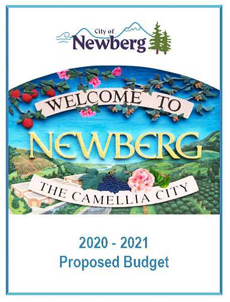 COURTESY PHOTO: CITY OF NEWBERG - The city of Newberg carried through on its proposal in April to cut back its annual budget in response to the COVID-19 pandemic and the strain it has placed on local businesses and residents.