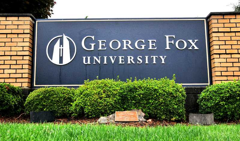 "PMG FILE PHOTO - George Fox University will be among 10 schools to hold a series of ""virtual visit sessions"" July 27-31."