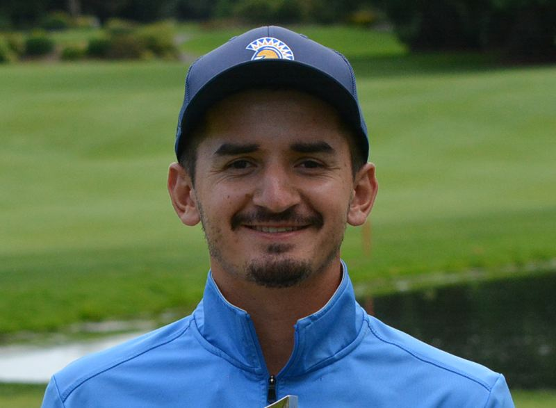 COURTESY PHOTO: OREGON GOLF ASSOCIATION - Bryce Workman of Creswell won the 111th Oregon Amateur Championship golf tournament on Saturday at Columbia Edgewater Country Club.