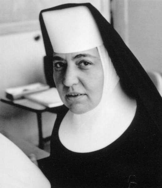 COURTESY PHOTO - Sister Dieker made her profession of vows on Feb. 10, 1942 and began her teaching career in elementary school in Silverton and Mount Angel.  She went on to teach history and other subjects for 46 years at Mount Angel College, Mount Angel Seminary and Eastern Oregon College in La Grande.