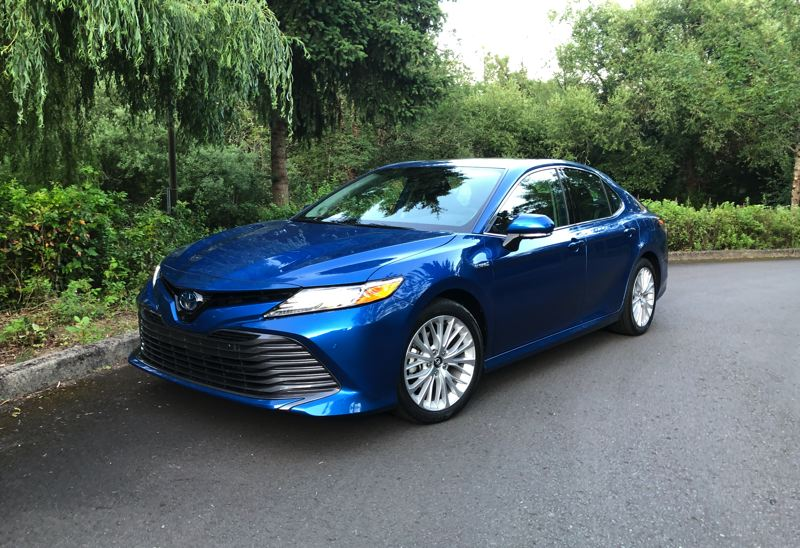 PMG PHOTO: JEFF ZURSCHMEIDE - Who says hybrids have to look boring? Toyota has updated the exterior of the 2020 Camry, making it the best looking version ever