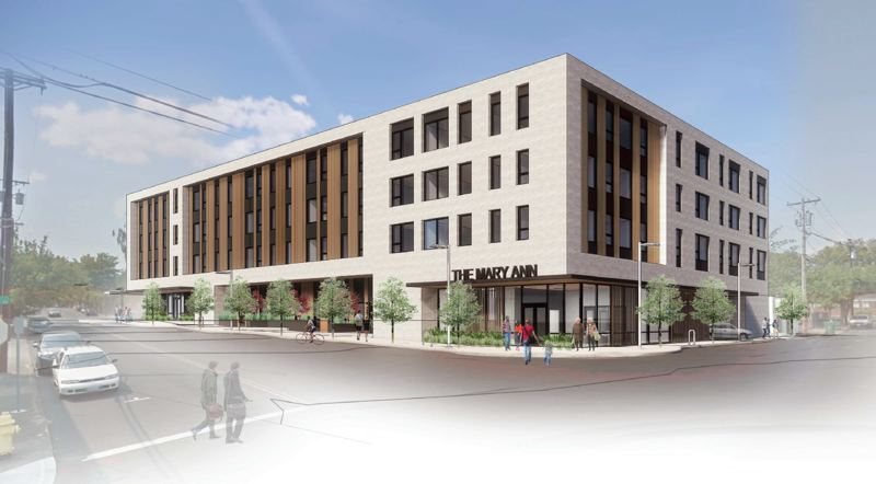 COURTESY: REACH - The Metro bond-funded Mary Ann affordable housing, coming to Beaverton Old Town in 2021.
