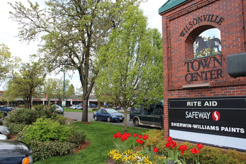 PMG FILE PHOTO - The city of Wilsonville passed the Town Center Plan in 2019.