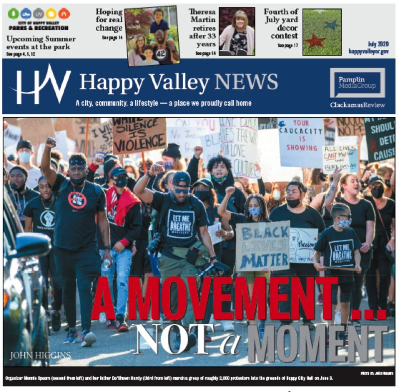 (Image is Clickable Link) Happy Valley News July 2020
