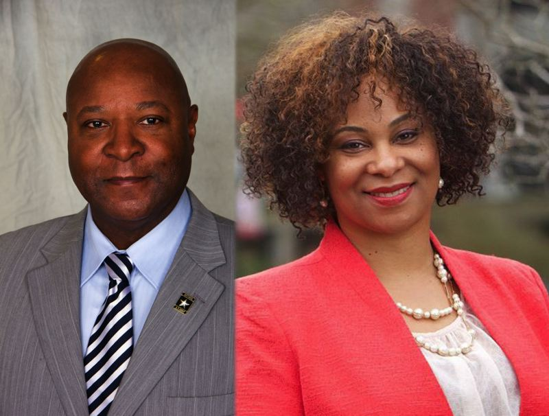 PMG PHOTO - Sen. James Manning Jr. and Rep. Janelle Bynum have been selected to lead the Oregon Legislature's committee to review police use of force.