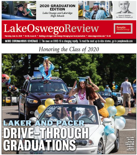 (Image is Clickable Link) Lake Oswego Graduation 2020