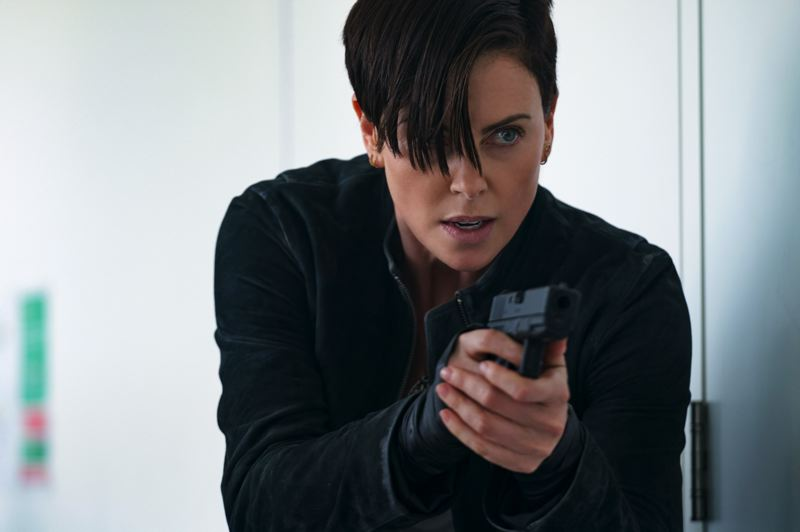 COURTESY PHOTO: AIMEE SPINKS/NETFLIX - Charlize Theron takes on another physical role as immortal soldier Andy in 'The Old Guard.' She has starred in such movies as 'Atomic Blonde' and 'Monster.'