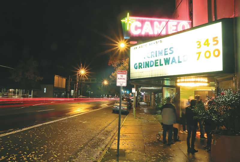 PMG FILE PHOTO - Newberg's Cameo Theatre will get some much-needed upgrades thanks to a $80,038 grant from the state.