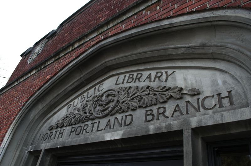 COURTESY PHOTO: VISITOR7 FOR WIKIMEDIA COMMONS  - The historic North Portland Library building opened on Feb. 20, 1913 at 512 N. Killingsworth St. It will be renovated and expanded under a proposed bond headed for the November ballot.