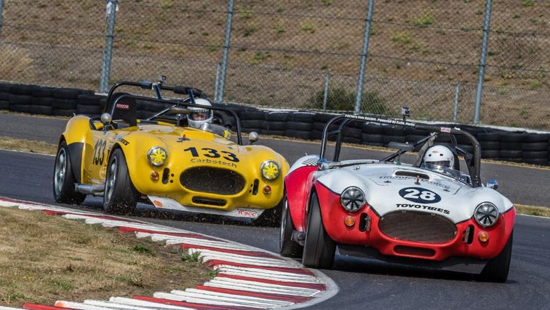 COURTESY SOVERN - Vintage SOVERN race cars will compete at Portland International Raceway on Labor Day Weekend.