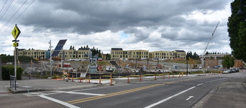 PMG PHOTO: TERESA CARSON - The Alta Civic Station development is on track to open in 2021.