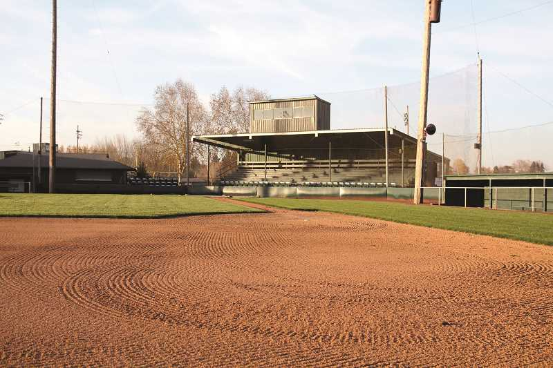 PMG PHOTO: PHIL HAWKINS - Only 200 guests will be allowed into each game due to COVID-19 restrictions. To check out the leagues full safety plan, go to https://www.portlandpicklesbaseball.com/safety-p.