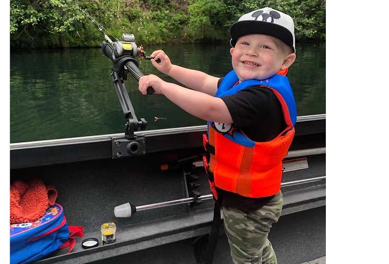 COURTESY PHOTO: MILWAUKIE POLICE DEPARTMENT - Jack Barrett, 2, was struck by an unknown vehicle that resulted in his death in Milwaukie.