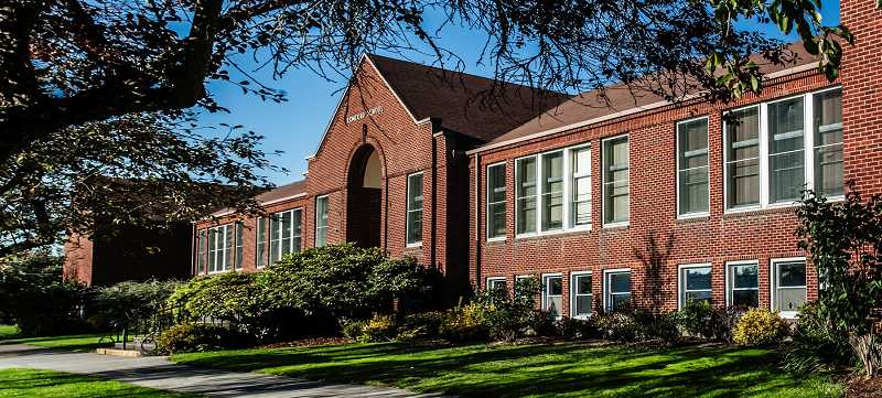 COURTESY PHOTO - Clackamas County officials are eyeing the former Concord School in Oak Grove as a site for a new library and park.