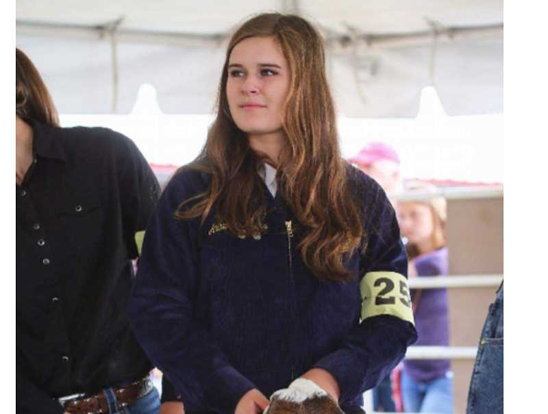 COURTESY PHOTO - Amber Simmons earned her state FFA degree before graduating in June.