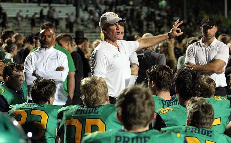 Chris Miller returns as West Linn football head coach