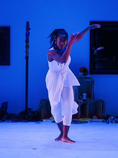 COURTESY PHOTO: REJOICE! - Oluyinka Akinjiola and Rejoice! Diaspora Dance Theater will perform at the 'Pavement' event, July 18.